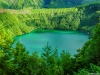 Portugal Azores Magic Green Lagoon Photography By Messagez.com