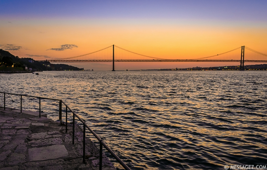 Best of Lisbon Bridge Sunset Photography 8 By Messagez.com