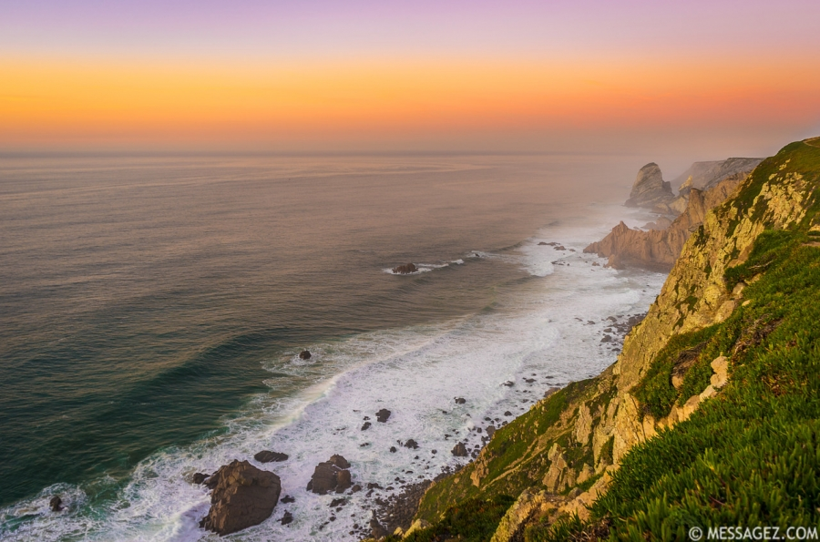 The Mystic Coast of Portugal at Sunset Photography By Messagez.com