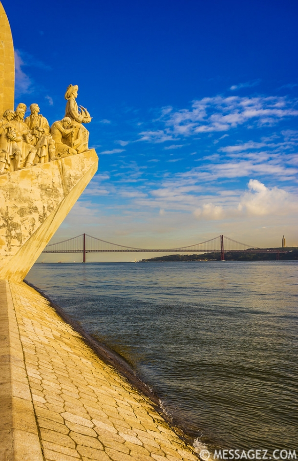 Portugal Lisbon Monument to the Discoveries Photography 9 By Messagez.com