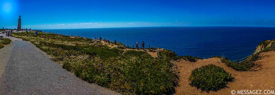 Best of Portugal Cape Roca Panorama Photography 3 By Messagez.com