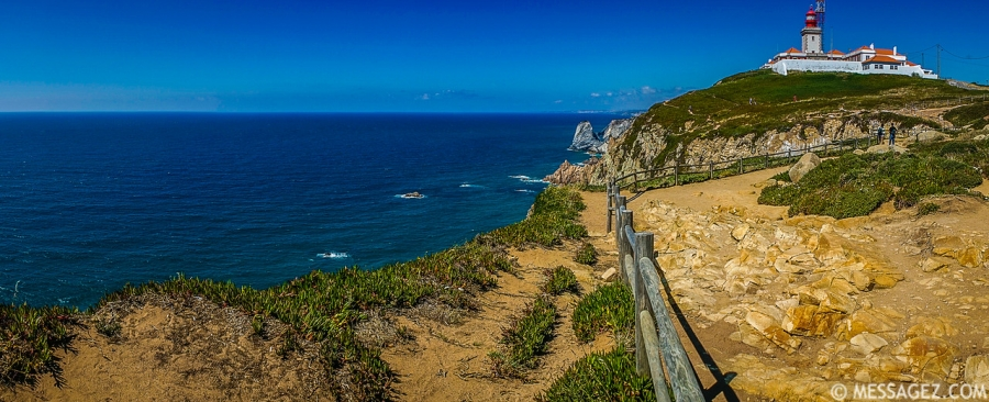 Best of Portugal Cape Roca Panorama Photography By Messagez.com