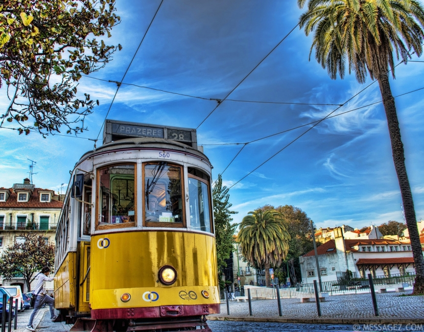 One of the Best Tram in The World Lisbon Tram 28 Photograph By Messagez.com