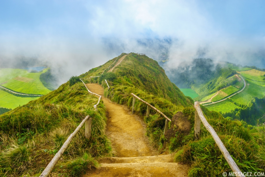 Amazing Azores Sao Miguel Island Viewpoint Landscape Photography 6 By Messagez.com