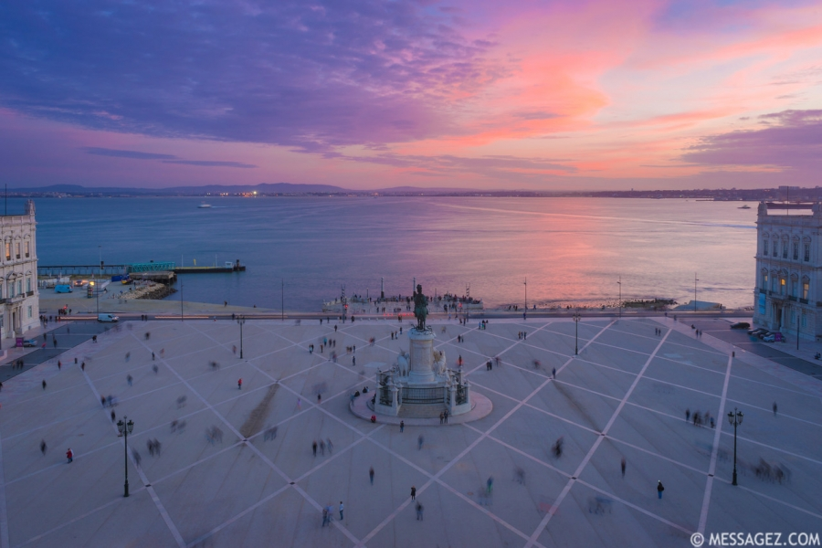 Lisbon Triumphal Arch Viewpoint Sunset Photography 23 By Messagez.com