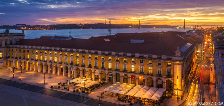 The Magic of The Lisbon Light Photography By Messagez.com