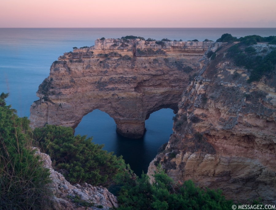 Original Heart of Algarve at Sunset By Messagez.com