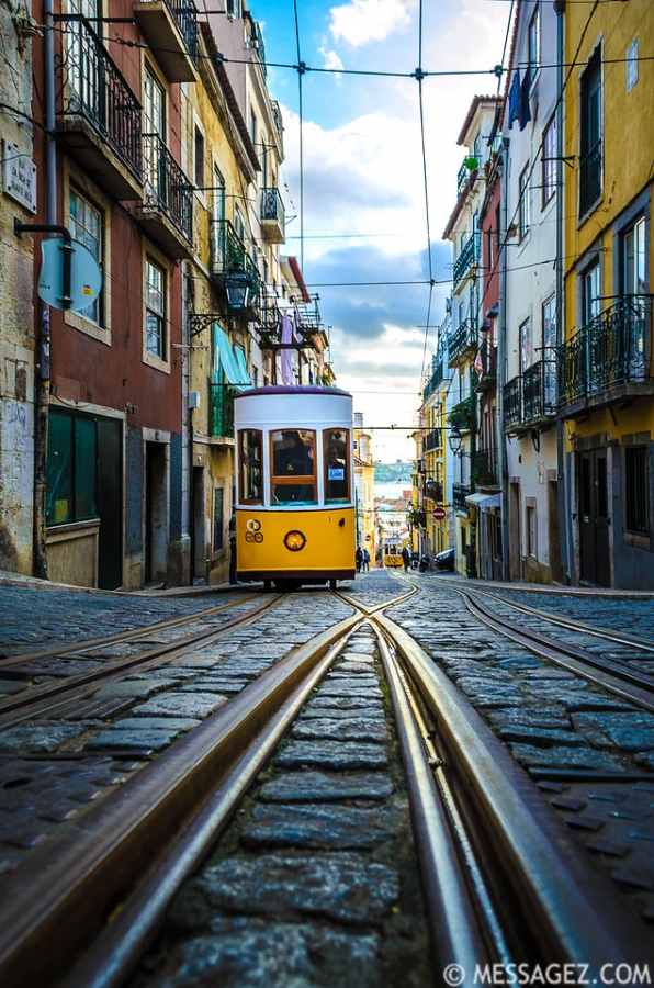 Best of Lisbon Trams Photography 51 By Messagez.com
