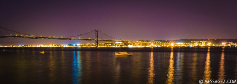 Lisbon 25th of April Bridge Photography By Messagez.com