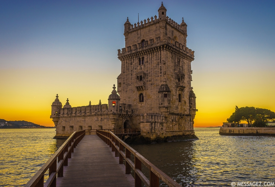Best of Portugal Lisbon Tower Sunset Photography 24 By Messagez.com