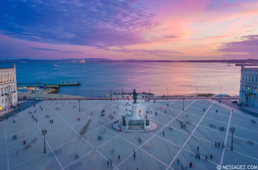 Lisbon Triumphal Arch Viewpoint Sunset Photography 19 By Messagez.com
