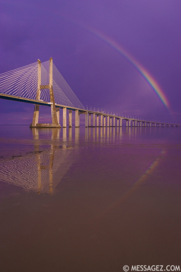 Magical Bridge Rainbow Photography 3 By Messagez.com