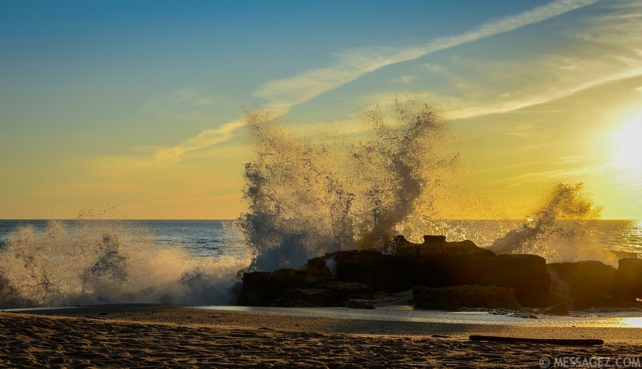 Amazing Atlantic Ocean Waves Photography 4 By Messagez.com