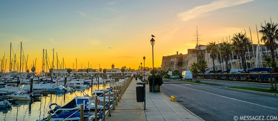 Beautiful Cascais Marina at Sunset Photography 2 By Messagez.com