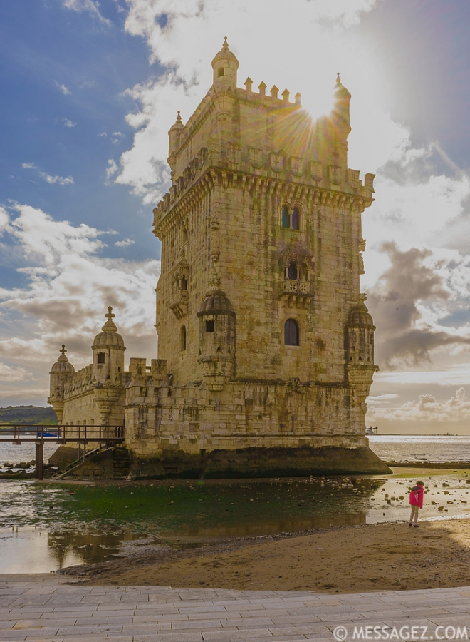 original lisbon tower sunshine art photography 2 by-messagez-com_