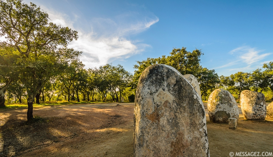 Portugal Cromlech of the Almendres Megalithic Magic Photography 6 By Messagez.com