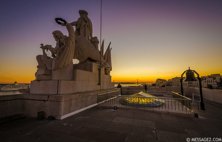 Portugal Lisbon Augusta Street Triumphal Arch Viewpoint Sunset Photography 11 By Messagez.com