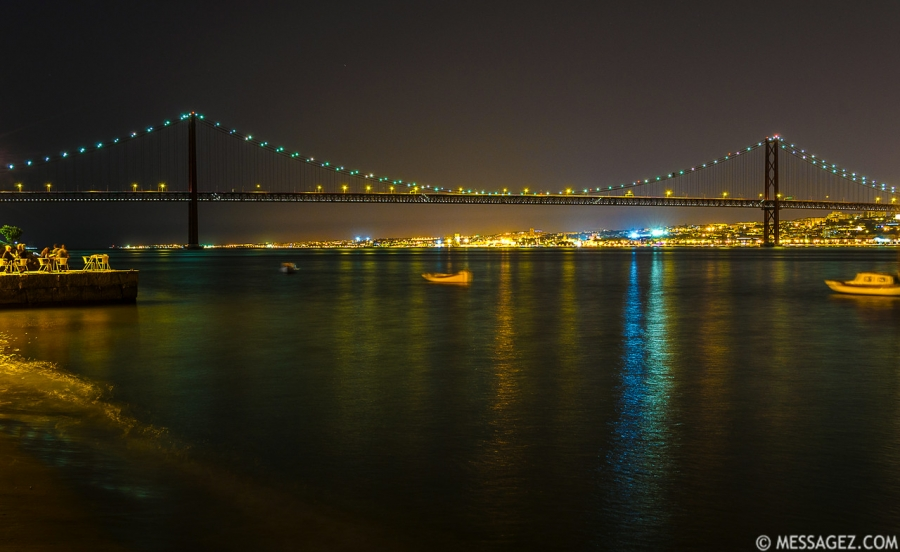 Best of Lisbon Bridge at Night Photography 10 By Messagez.com