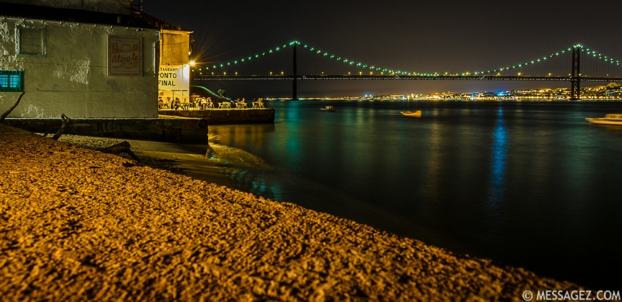 Best of Lisbon Bridge at Night Photography 13 By Messagez.com
