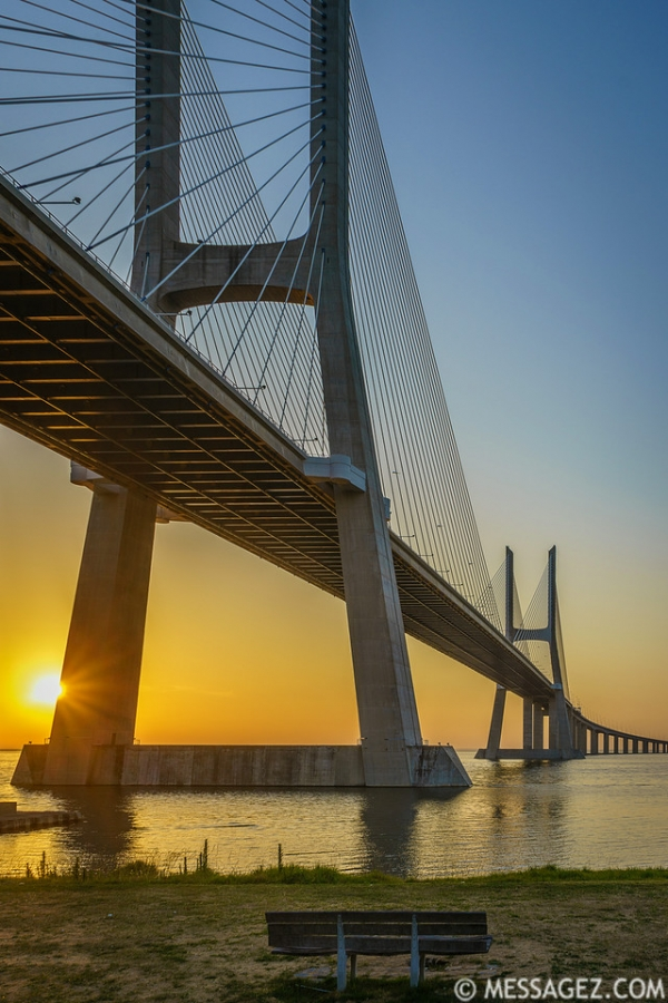 Best of Lisbon Bridge Sunrise Photography 11 By Messagez.com