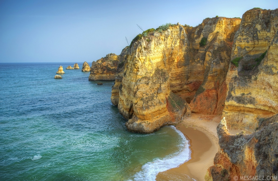 Lagos Algarve Beach Image By Messagez.com