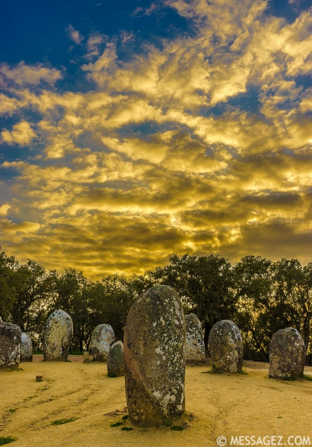 Portugal Cromlech of the Almendres Megalithic Magic Photography 31 By Messagez.com