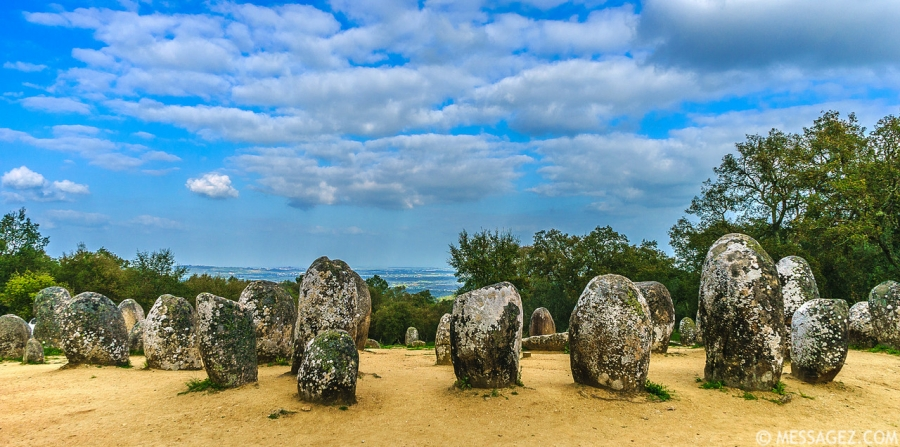 Portugal Cromlech of the Almendres Megalithic Magic Photography 35 By Messagez.com