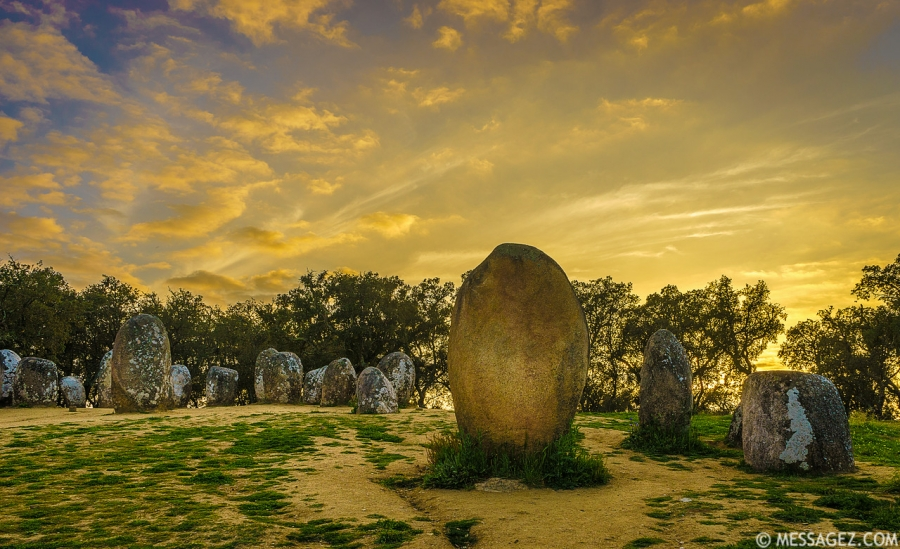 Portugal Cromlech of the Almendres Megalithic Magic Photography 48 By Messagez.com