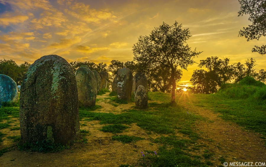 Portugal Cromlech of the Almendres Megalithic Magic Photography 50 By Messagez.com