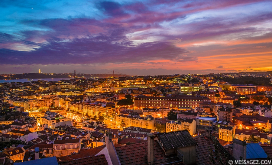 Best of Lisbon Viewpoints Photography 17 By Messagez.com