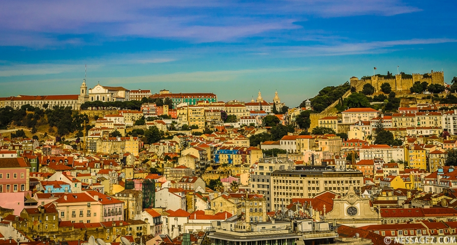 Best of Lisbon Viewpoints Photography 2 By Messagez.com