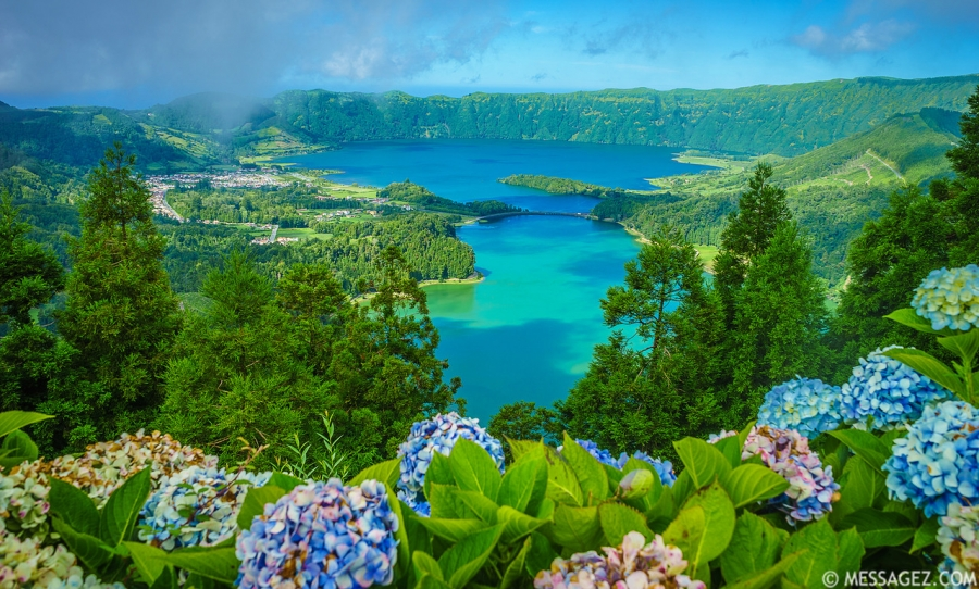 Portugal Azores Sao Miguel Island Magic Lagoons Photography By Messagez.com