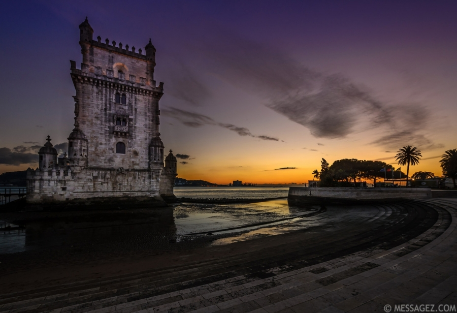 Belem Tower Lisbon Portugal Image By Messagez.com