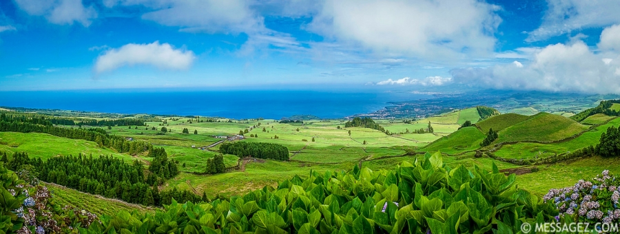 Best of Azores Sao Miguel Island Panorama Photography 2 By Messagez.com