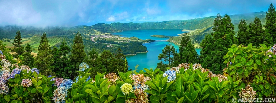 Best of Azores Sao Miguel Island Panorama Photography 3 By Messagez.com