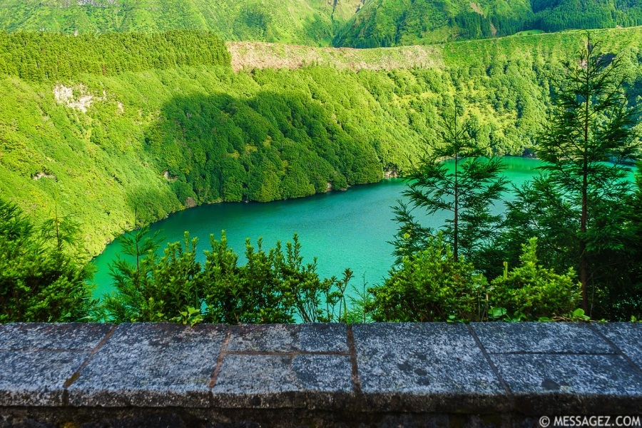 Portugal Azores Magic Green Lagoon Photography 3 By Messagez.com
