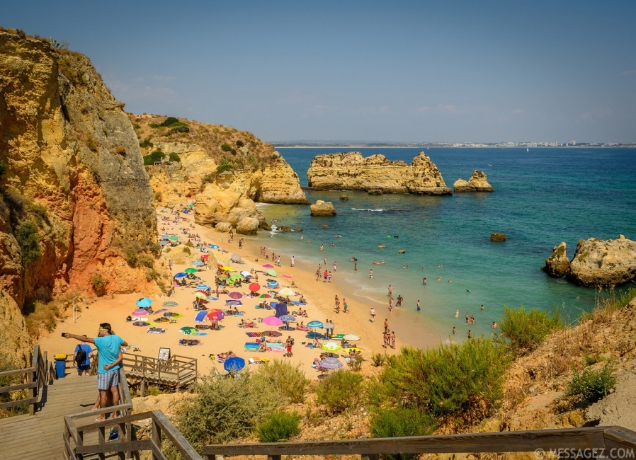 Amazing Lagos Algarve Beach Image By Messagez.com