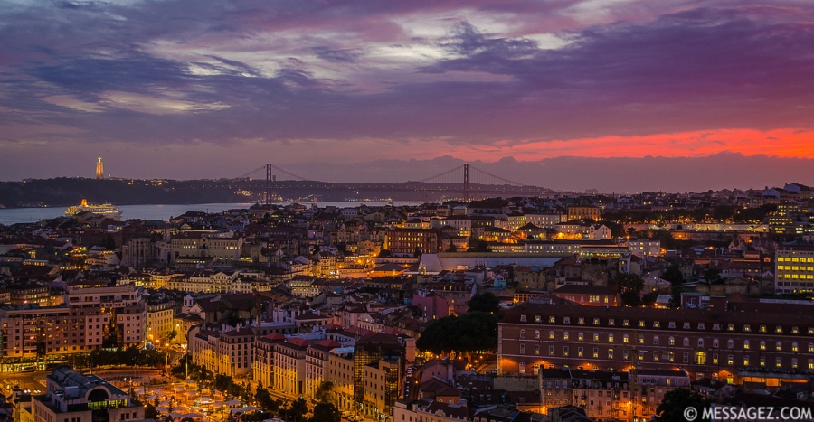 Best of Lisbon Viewpoints Photography 16 By Messagez.com