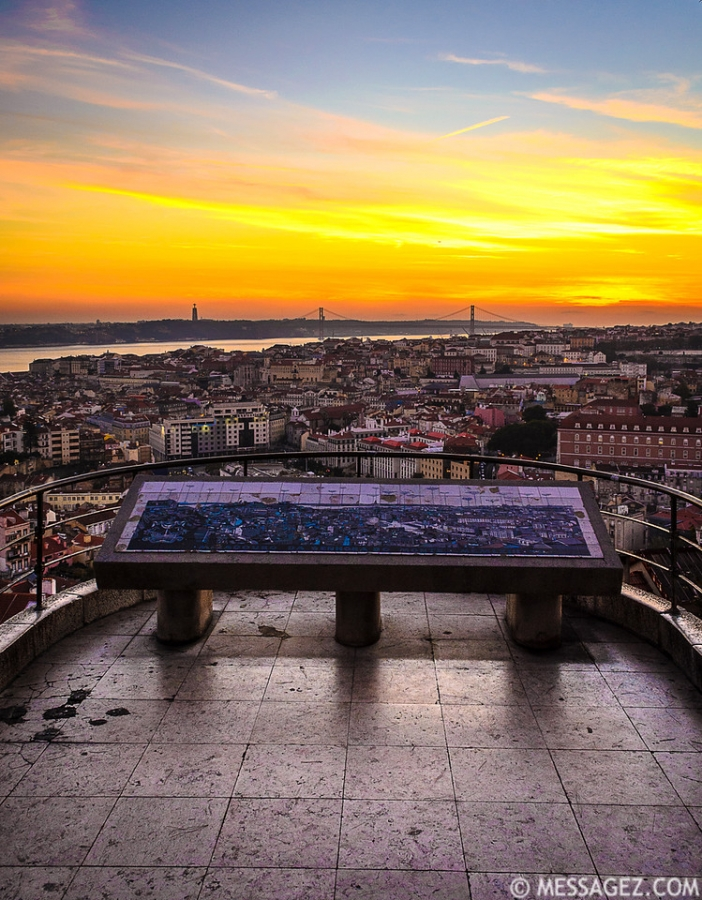 Best of Lisbon Viewpoints Photography 19 By Messagez.com