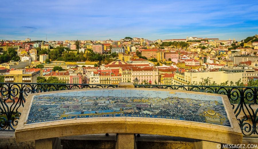 Best of Lisbon Viewpoints Photography By Messagez.com