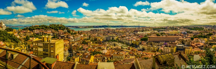 Best of Portugal Lisbon Panoramic Photography 3 By Messagez.com