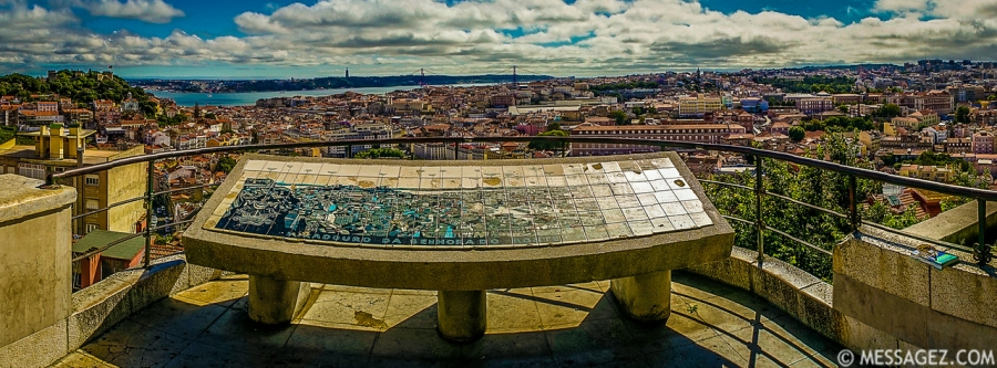Best of Portugal Lisbon Panoramic Photography 4 By Messagez.com