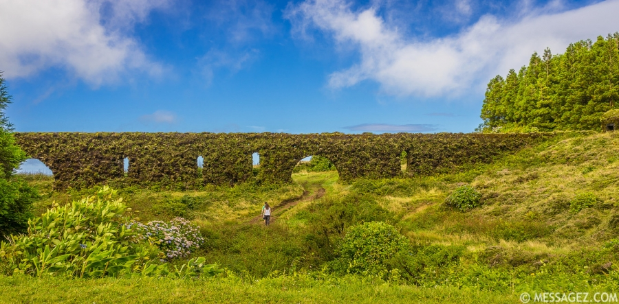 Original Azores Green Portals Photography By Messagez.com