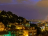 Beautiful Lisbon City Viewpoint by Night Photography By Messagez.com