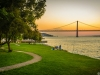 Best of Lisbon Bridge Sunset Photography 2 By Messagez.com