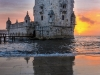 Best of Portugal Lisbon Tower Sunset  Reflections Photography 5 By Messagez.com