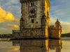 Best of Lisbon Tower Sunset  Reflections Photography 3 By Messagez.com