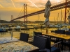 Lisbon Bridge at Sunset Fine Art Photography By Messagez.com