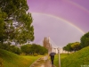 Original Double Rainbow Portal Photography By Messagez.com
