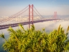 Original Lisbon 25th of April Bridge Landscape Photography 15 By Messagez.com